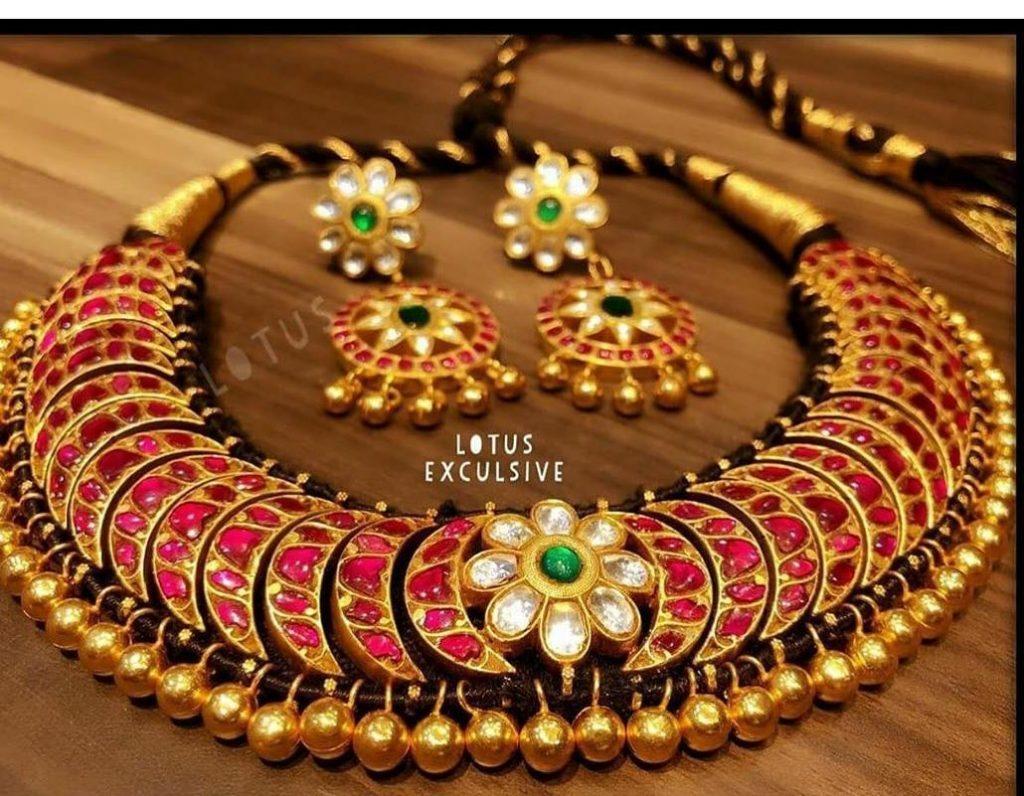 Gorgeous Sammantha Choker From Lotus Silver Jewellery