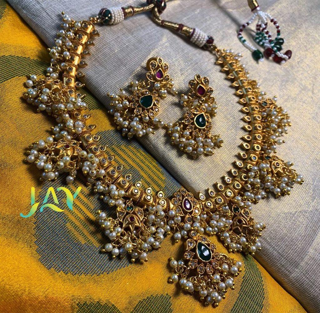 Guttapusalu Necklace From Jayy Chennai