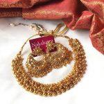 High Quality Antique Necklace From Nakshatra Chennai