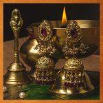 Royal Silver Jhumkas From Vamika Silver