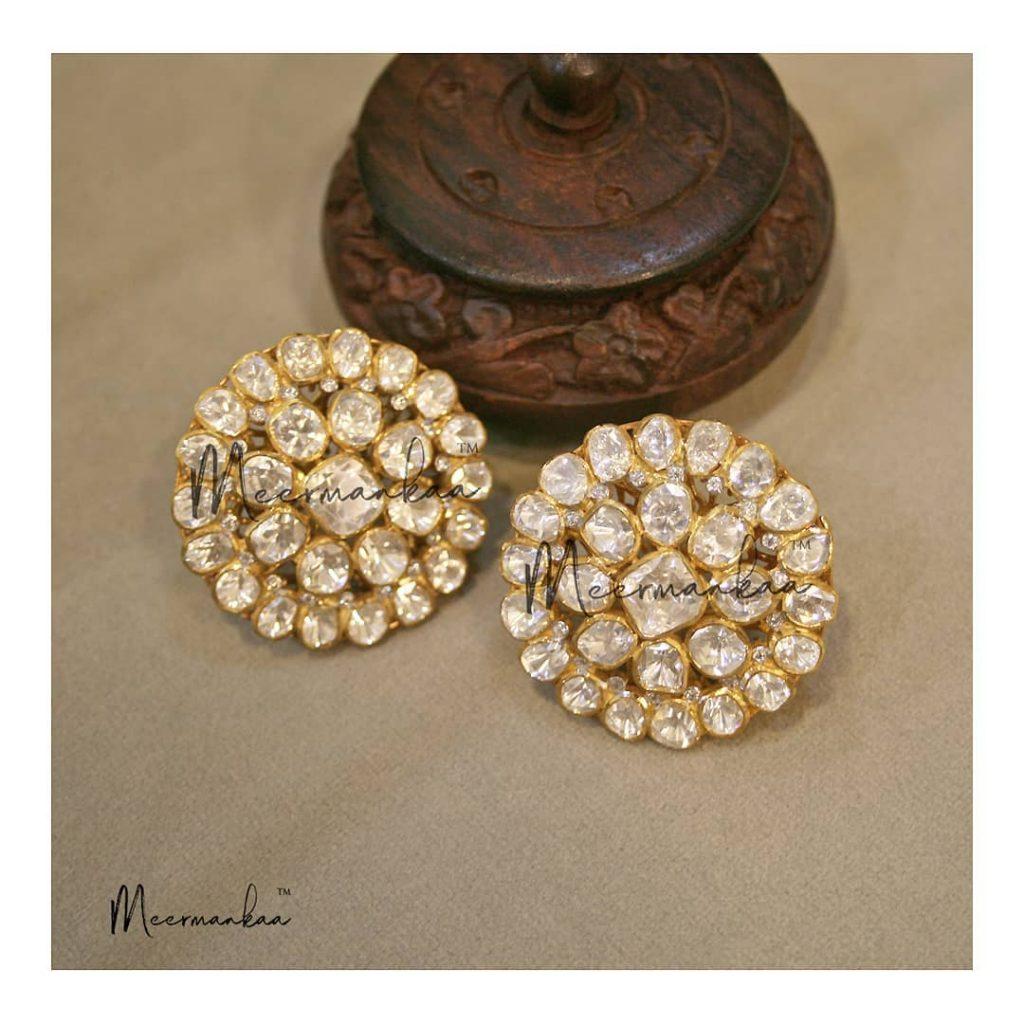 Sterling Silver Earrings From Meermankaa