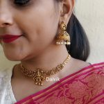 Simple Lakshmi Choker From Daivik
