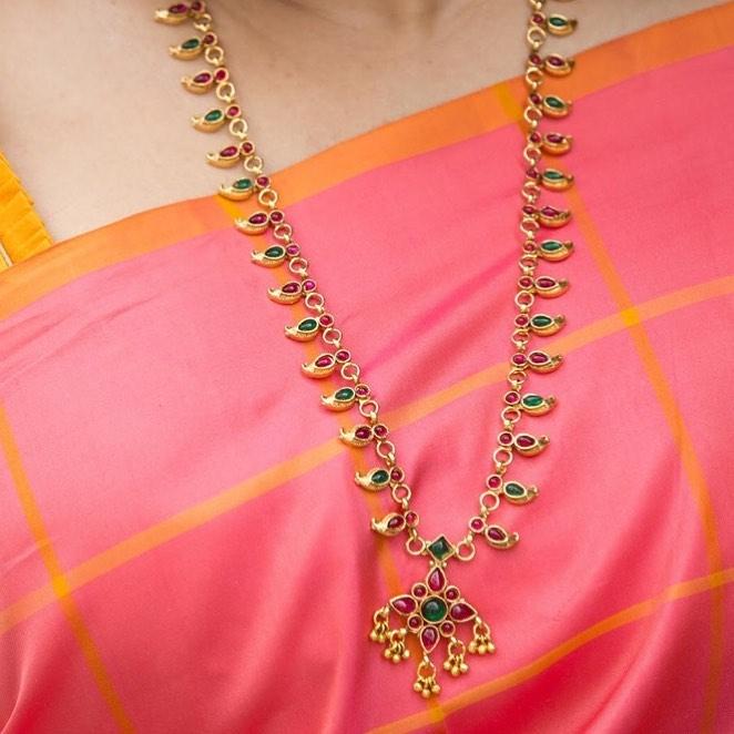Simple Mango Necklace From Kattam