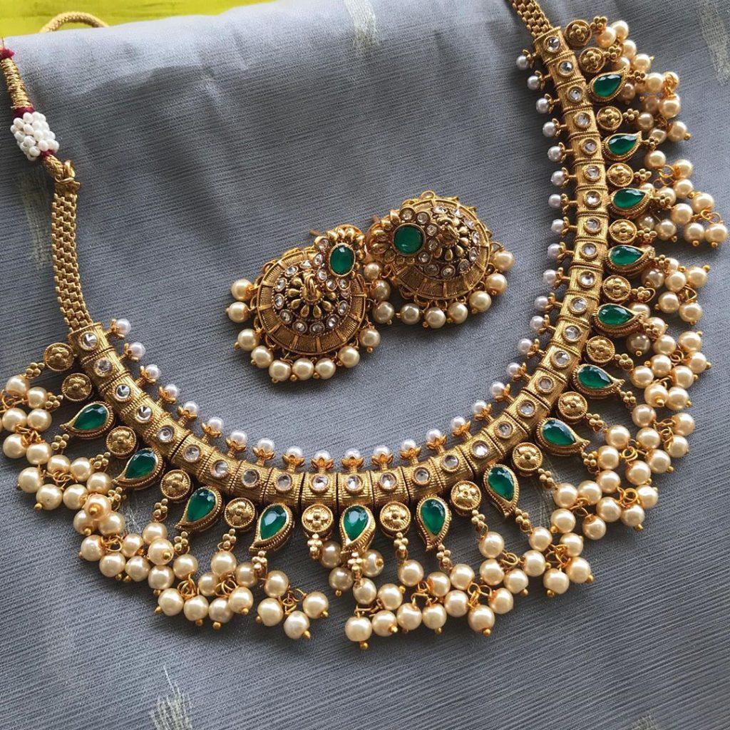 Ethnic Necklace Set From Kattam
