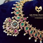 Decorative Silver Necklace From Ms Pink Panthers