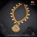Attractive Gold Necklace From Navrathan 1954