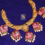 Ethnic Silver Necklace From Shaburis