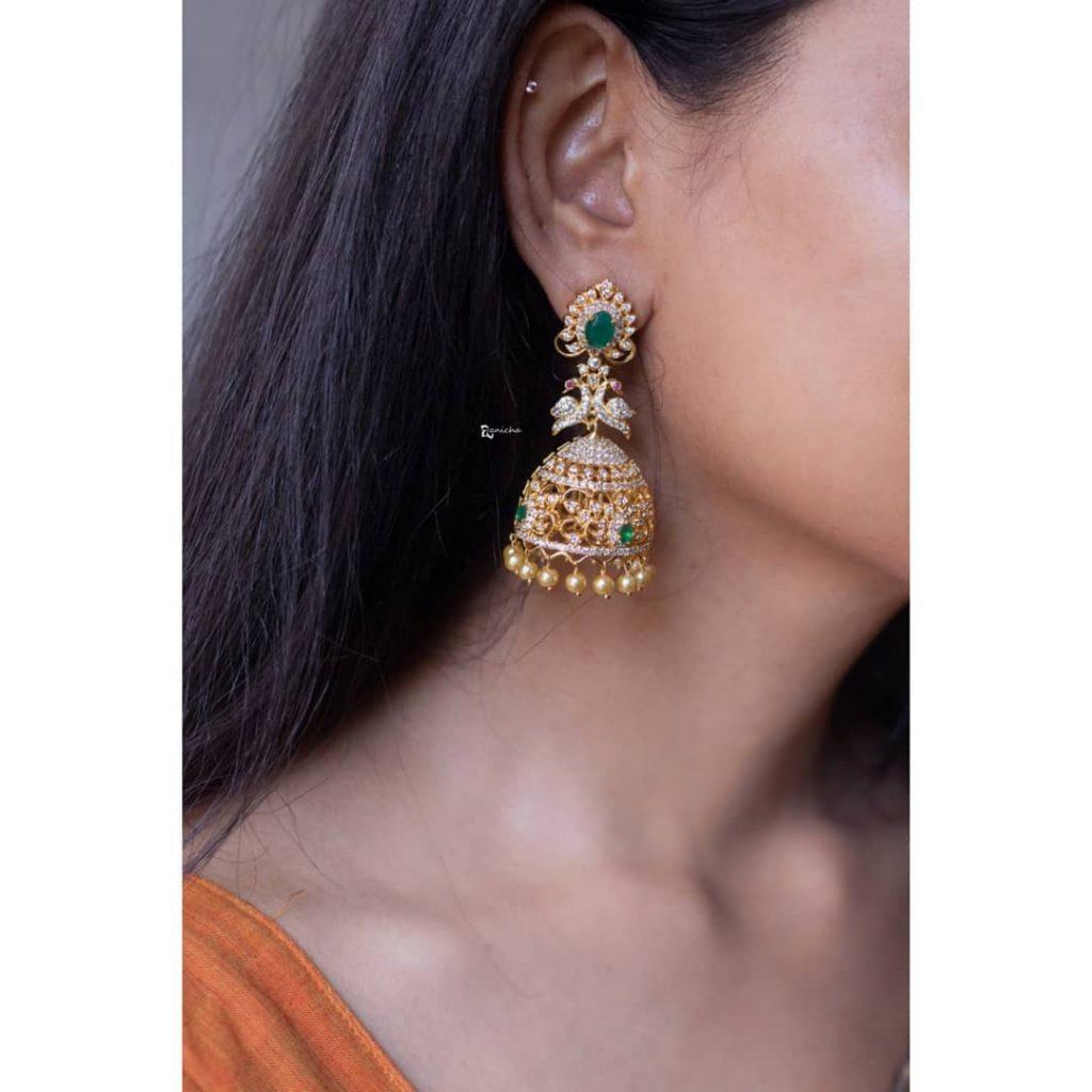 Beautiful Bridal Jhumkas From Anicha