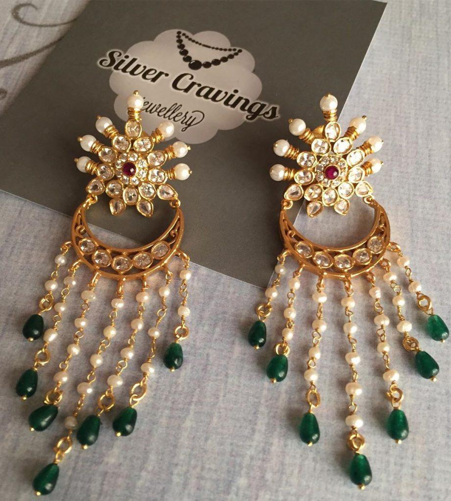 Trendy Silver Earrings From Silver Cravings Jewellery