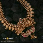 Gorgeous Gold Necklace From Sri Vasavi Thanga Maligai