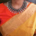 Trendy Silver Necklace From Tiysha