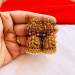 Grand Jhumkas From Vaniya Boutique