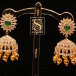 Ethnic Silver Jhumkas From Shaburis