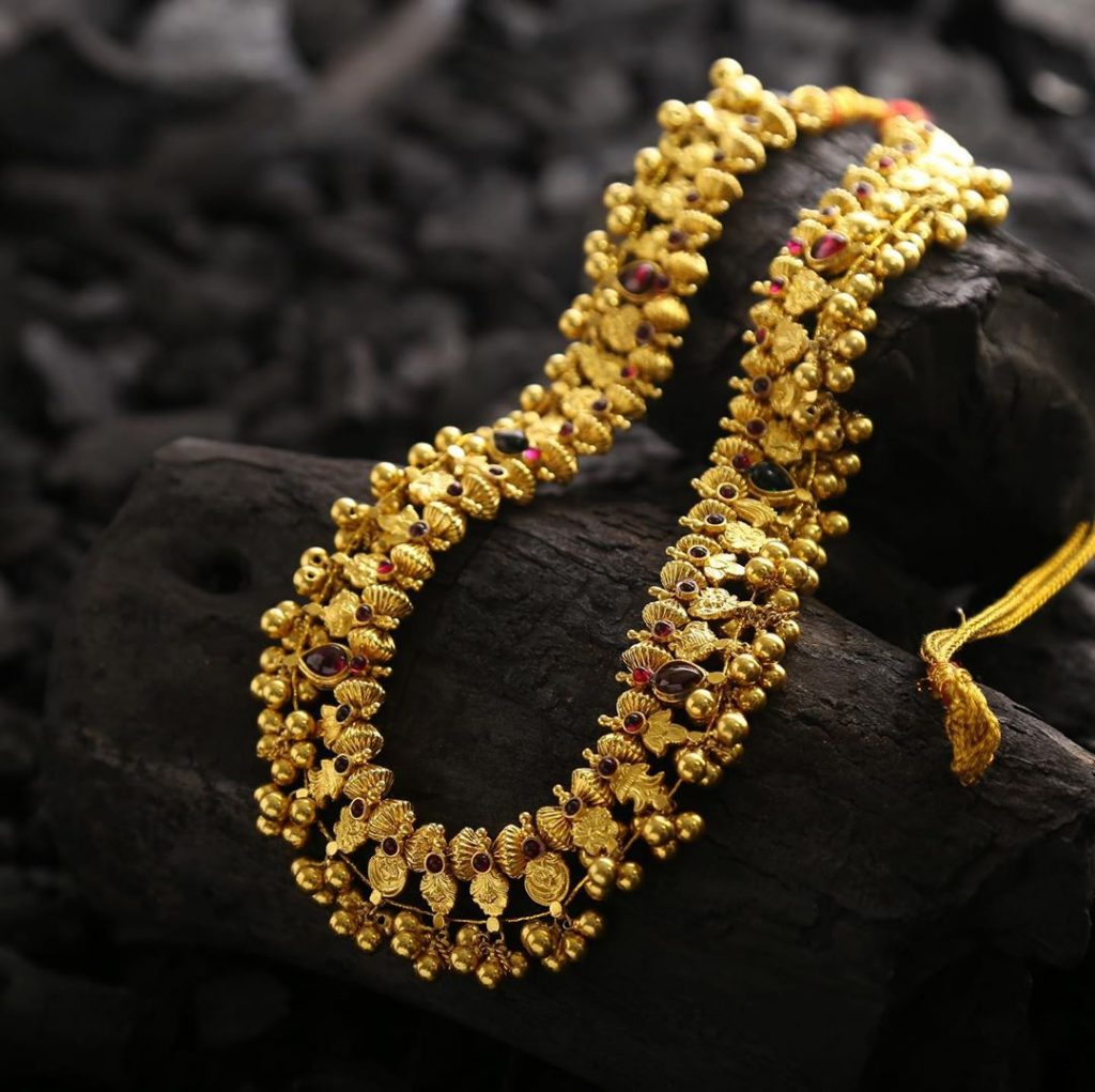 Traditional Long Necklace From Aadyaa Originals