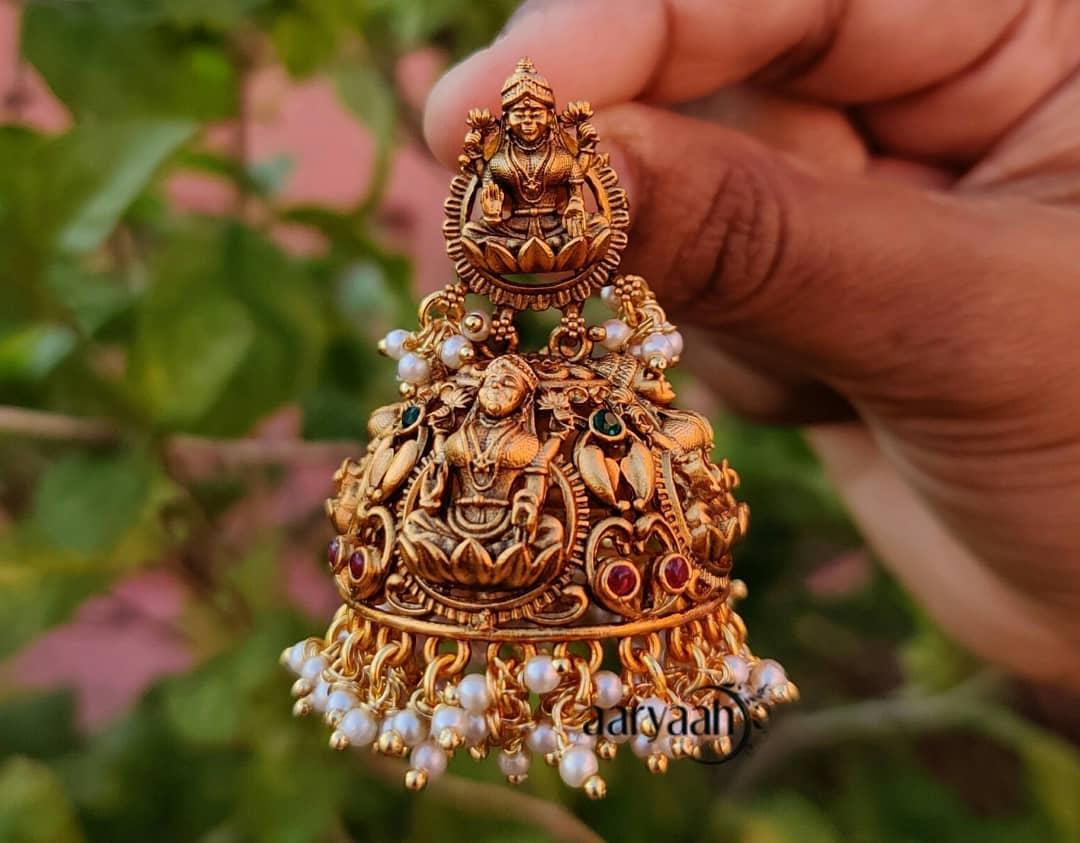 Beautiful Jhumkas From Aaryaah Designs