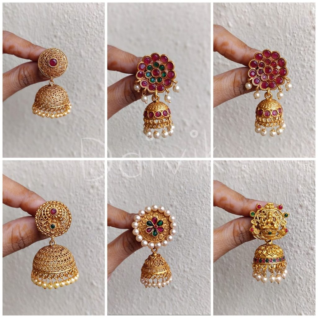 Fashionable Jhumkas From Daivik
