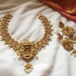 Grand Haathi Lakshmi Choker Set From Emblish Coimbatore