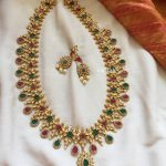 Adorable Necklace Set From Emblish Coimbatore