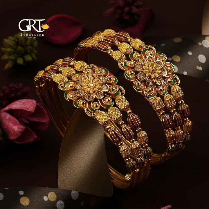 Mind Blowing Gold Bangles From GRT Jewellers