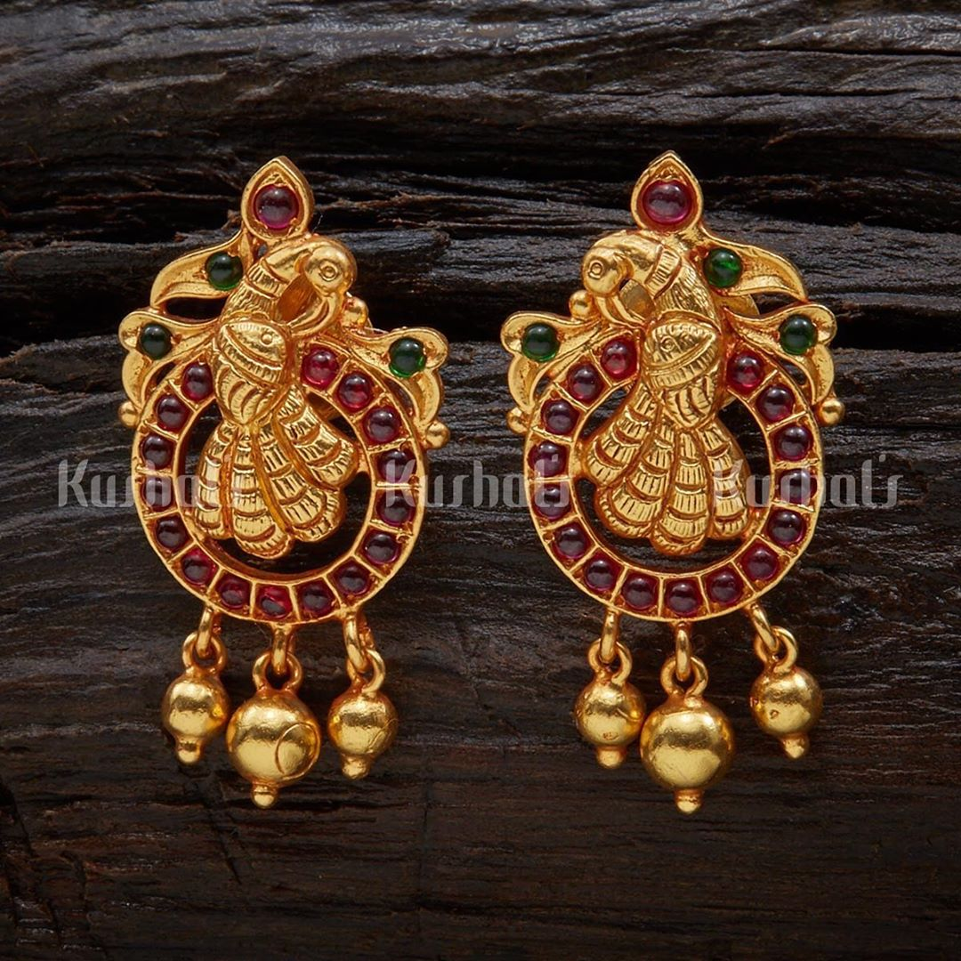 Ethnic Silver Earrings From Kushal's Fashion Jewellery