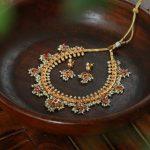 Traditional Guttapusalu Necklace Set From Marigold By Aadyaa