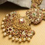 Ethnic Gold Necklace From NAC Jewellers