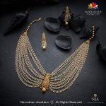 Classy Necklace Set From Navrathan