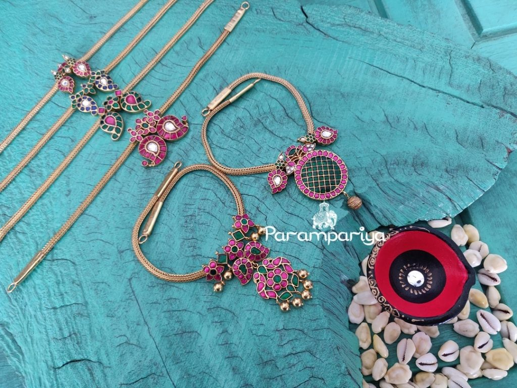 Pretty Kundan Necklace Collections From Parampariya
