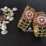 Grand Silver Bangles From Parampariya