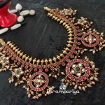 Grand Silver Necklace From Parampariya