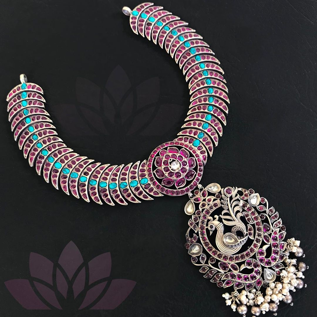 Unique Silver Necklace From Prade Jewels