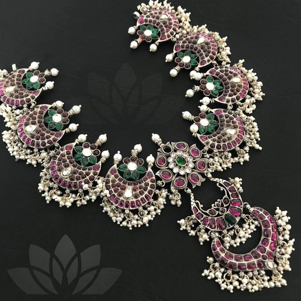 Precious Silver Necklace From Prade Jewels
