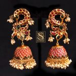 Stunning Imitation Jhumkas From Shaburis