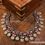 Attractive Silver Necklace From Nakoda Payals