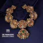 Gorgeous Gold Necklace From Sri Mahalakshmi  Jewellers And Pearls