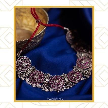 Ethnic Silver Jewellery From Sukra Jewellery