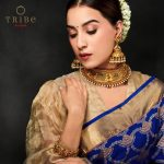 Graceful Gold Necklace From Tribe by Amrapali