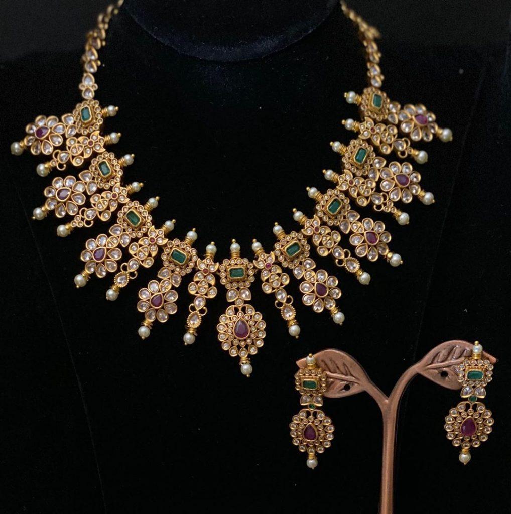 Designer Necklace Set From Vrddhiuk