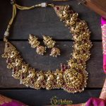 Decorative Temple Necklace From Vriksham