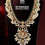 Elegant Diamond and Pearl Guttapusal Haram