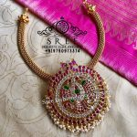 Beautiful Necklace by Sree Exotic Silver Jewelleries