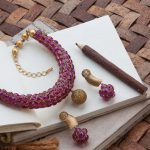 Necklace Set by Vaibhav Jewellers