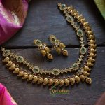 Semi Precious Stone Layered Necklace set from Vriksham