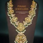 Traditional Temple Necklace by Pinaki Jewellers