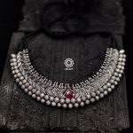 Silver Necklace by Aham Jewellery