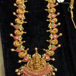 Long Haram Necklace Set by Premraj Shantilal Jain Jeweler