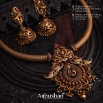 Antique Necklace Set by Aabushan Jewellery