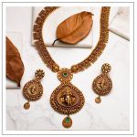 Antique Temple Necklace Set by Shop Tarinika