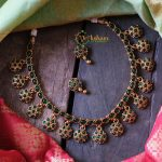 Flower Kemp Necklace Set by Vriksham