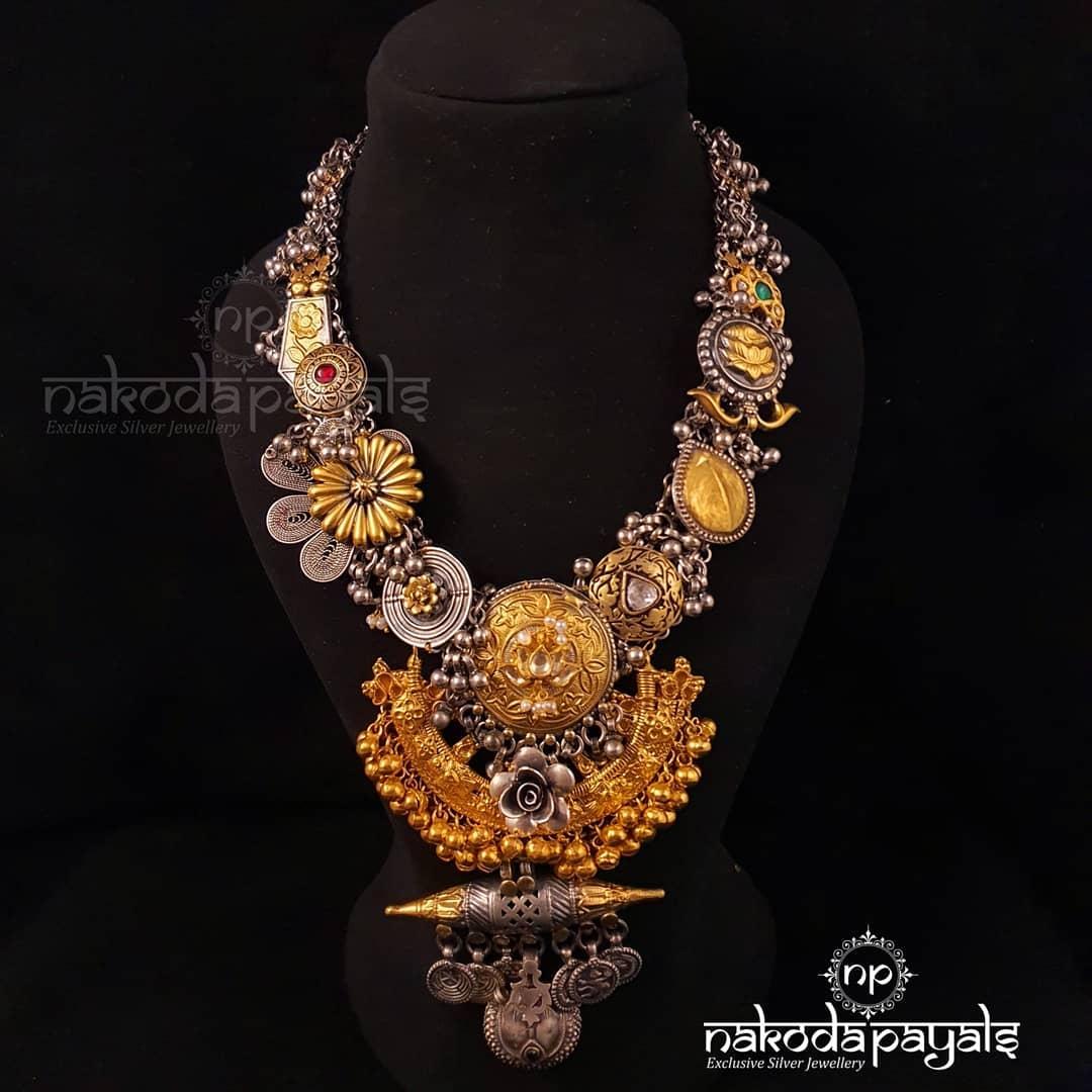handmade-oxidized-tribal-necklace